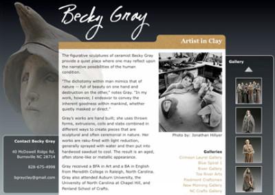 Becky Gray Clay