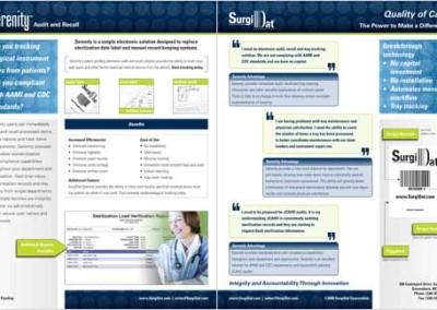 Serenity Data Sheet