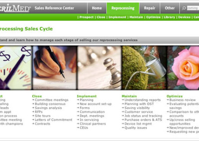 Sales Reference Center